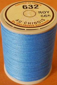 Fil au chinois 632 bleu roy