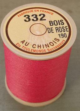 Fil au chinois 332 bois de rose