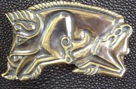 Boucle en bronze - Sanglier celte