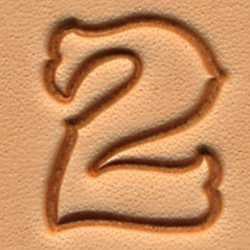 Matoir cuir coffret chiffres 1,9 cm