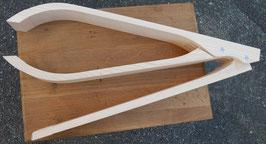 Pince à coudre ou pince de sellier pliante (préparée)