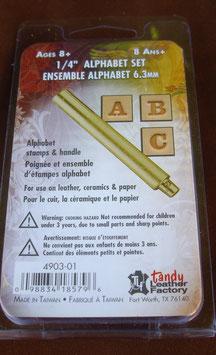 Matoir cuir coffret lettre 6,3 mm