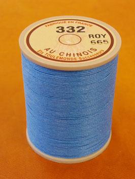 Fil au chinois 332 bleu roy