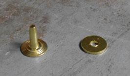 Rivets à mater en laiton 10 mm / T35