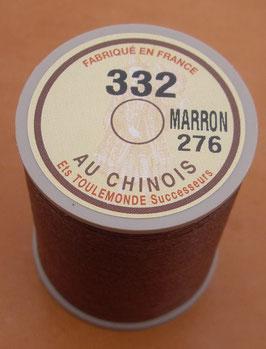Fil au chinois 332 marron