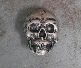 Concho Crâne XL Vieil Argent