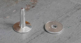 Rivets à mater en aluminium 11.5 mm / T30