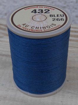 Fil au chinois 432 bleu