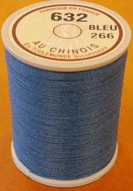 Fil au chinois 632 bleu