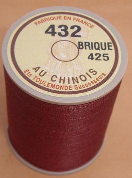 Fil au chinois 432 brique