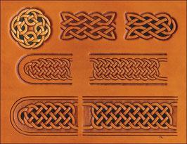 Calque pour le transfert de motifs celtiques (ceintures et boucles celtes)