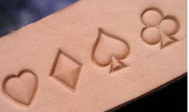 Matoir symboles de jeux de cartes