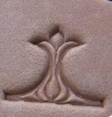 Matoir de bordure à méandres florales