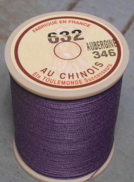 Fil au chinois 632 aubergine