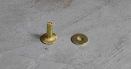 Rivets à mater en laiton 13.5 mm / T40