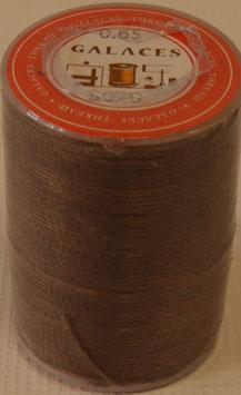Fil polyester tressé 0.65 mm marron-fonce