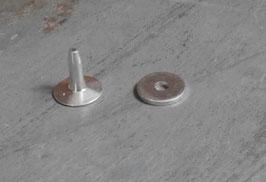 Rivets à mater en aluminium 9.5 mm / T30
