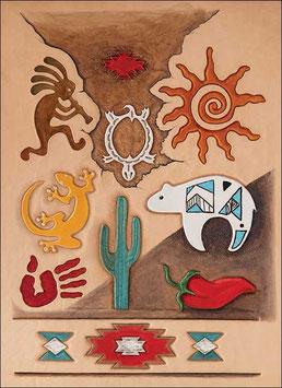 Calque pour le transfert de motifs - Tribal