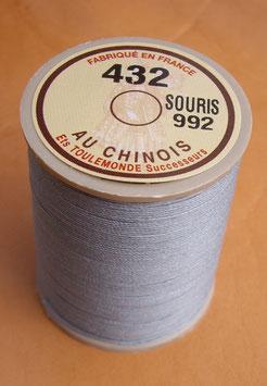 Fil au chinois 432 gris souris