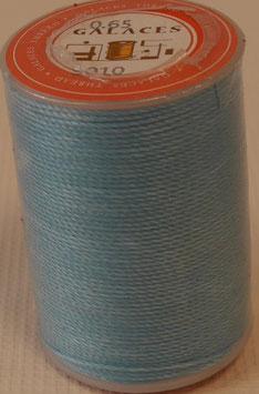 Fil polyester tressé 0.65 mm bleu-ciel