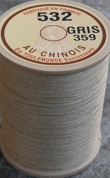 Fil au chinois 532 gris