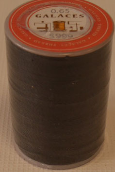Fil polyester tressé 0.65 mm noir