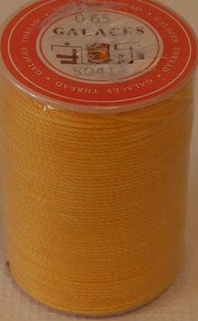 Fil polyester tressé 0.65 mm jaune