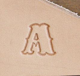 Matoir cuir lettres 1,25 cm