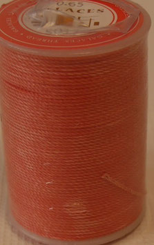 Fil polyester tressé 0.65 mm orange