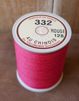 Fil au chinois 332 rouge