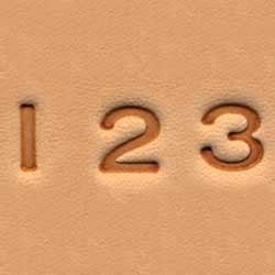 Matoir cuir coffret chiffres 6,3 mm