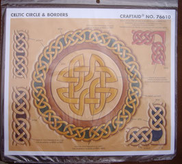 Calque pour le transfert de motifs celtiques (ronds et bordures)