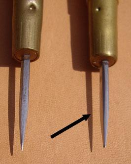 Alêne aux pinces 38 mm affûtée