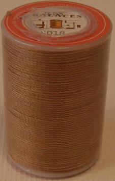 Fil polyester tressé 0.65 mm marron-clair