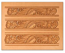 Calque pour le transfert de motifs - motifs floraux pour ceinture 3