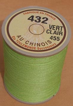 Fil au chinois 432 vert clair