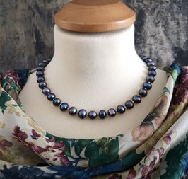"Perlenkette ""MIRABLAU LIGHT"" - Süßwasserzuchtperlen mit 925er Magnetverschluss – ca. 45,0 cm lang."