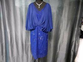 Cocktailkleid von Ashley Brooke in Größe 44 oder in Größe 46 in Farbe dunkelblau
