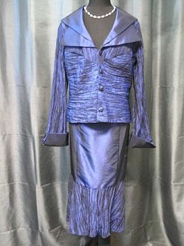 Cocktailkleid (Kostüm 2-Teilig) von Kleemeier-Valerie in Größe 44 royalblau