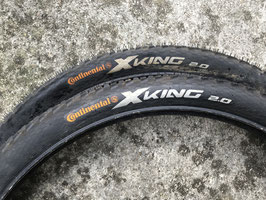 CONTINENTAL X KING 26x2.0 (paire)
