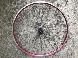 roue avant anodisé rouge moyeu dt swiss
