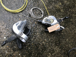paire shifter shimano deore lx 3x8v