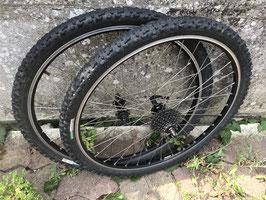 paire roues sunn 20six /sachs centera