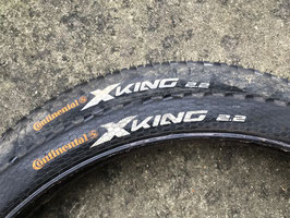 CONTINENTAL X KING 26x2.2 (paire)