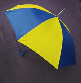 Schirm mit Automatik, Blau-Gelb - was sonst ^^