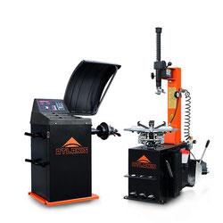 Reifen Montiermaschine und Wuchtmaschine A-HA-1000-230V1S-V02 und A-HA-2000-230V-V02 im Set
