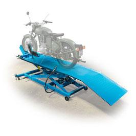 Motorrad Hebebühne, pneumatisch-hydraulisch, 450kg TL1700-4A