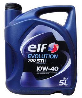Elf Evolution 700 STI 10W-40 Diesel & Benziner Motoröl 5l