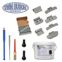 Starter-Paket für Reifenmontage- und Reifenwuchtmaschinen - TWF-STA