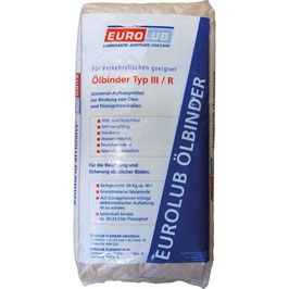 Eurolub Ölbinder Plus 20KG  EL814020